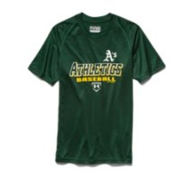 Under Armour Boys' Oakland Athletics UA Tech T-Shirt