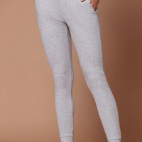 Ivy Park Rib Leggings at PacSun.com - e. heather grey | PacSun
