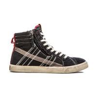 Diesel D-Velows D-String Sneaker in Black