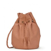 Sole Society Montana Braided Leather Bucket Bag