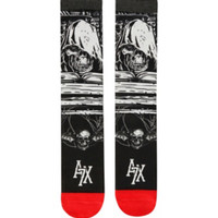 Avenged Sevenfold Sketch Art Crew Socks