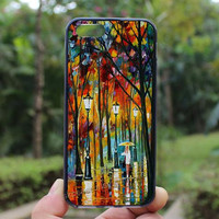 Colorful tree Case,Night light,iphone 5s case,iphone 4 case,iPhone4s case, iphone 5 case,iphone 5c case,Gift,Personalized,water proof