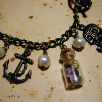 Deluxe Goonies Inspired Charm Bracelet by KawaiiCandyCouture