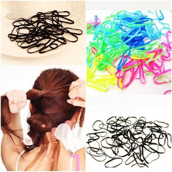 Rubber Rope Ponytail Holder Hair Elastic Braids