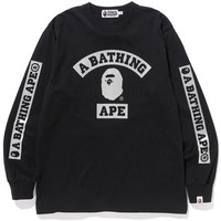 REFLECTION CAMO COLLEGE L/S TEE