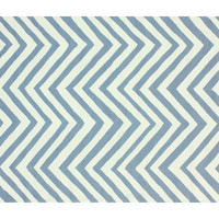 Chevron Outdoor Rug, Light Blue, Area Rugs