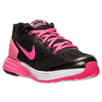 Girls' Grade School Nike LunarGlide 6 Running Shoes