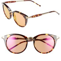 Women's Wildfox 'Sunset Deluxe' 48mm Retro Sunglasses