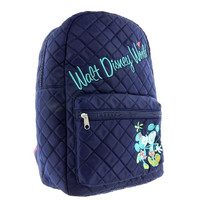 Disney Parks Mickey & Minnie Quilted Backpack New with Tag