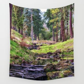 Life Flows Wall Tapestry by Vicki Field