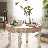 Hope Round Coffee Table- White One