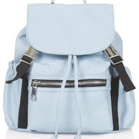 Casual Sporty Backpack - Blue