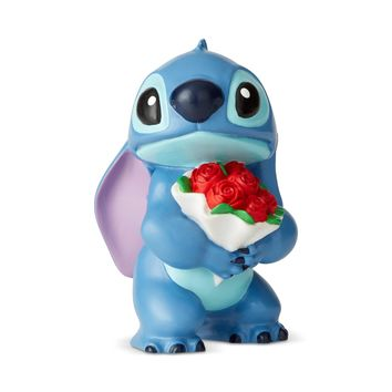 Disney Showcase Stitch with Flowers Mini Figurine New with Box