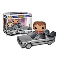 Back to the Future DeLorean Time Machine Pop! Vinyl Vehicle
