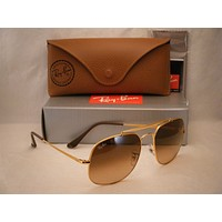 Ray Ban 3561 Light Bronze w Pink Brown Gradient Lens (RB3561 9001A5)