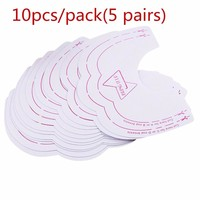 10pcs/Pack The Instant Breast Lift Support Beauty Breast Stickers Invisible Bra Push Up Bra Stickers Paste