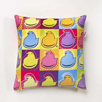 PEEPS & COMPANY Online Candy Store: Shop Now : PEEPS Chick Art Microbead Pillow