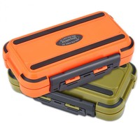 Large 24 Compartments Waterproof Fishing Box Storage Case