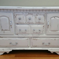 Shabby Chic  TV Stand/ Media Cabinet / Wine Bar/ Sideboard/ Credenza