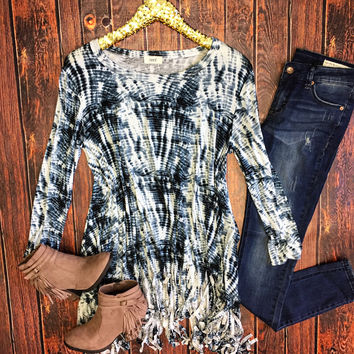 Call Me Maybe Fringe Tunic