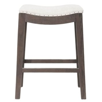 Harper Counter Stool Rustic Java Oak