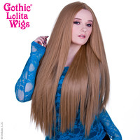 "Lace Front Yaki Straight 32"" - Milk Tea -00589"