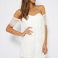 Sweet Aromas Dress - White