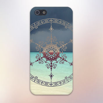 Gold Compass x Lace Doily x Beach Background Case for iPhone 6 6 Plus iPhone 5 5s 5c iPhone 4 4s Samsung Galaxy s5 s4 & s3 and Note 4 3 2