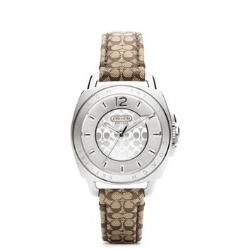 COACH Mini Boyfriend Strap Watch at Von Maur