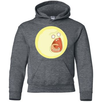 Ripple Junction Rick and Morty Screaming Sun Adult T-Shirt-01 G185B Gildan Youth Pullover Hoodie
