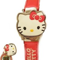 Sanrio Hello Kitty Watch - Kitty Watch w/ 2 Interchangeable Tops