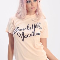 Beverly Hills Vacation Vintage Tee