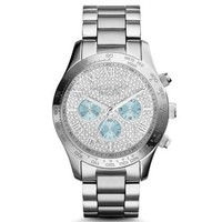 Layton Silver-Tone Watch | Michael Kors