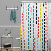 DENY Designs Khristian A Howell Woven Polyester Nolita Drops Shower Curtain