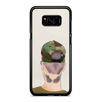 Justin Bieber Drawing Samsung Galaxy S8 Case