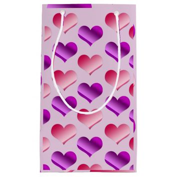 Bunches of Hearts Small Gift Bag