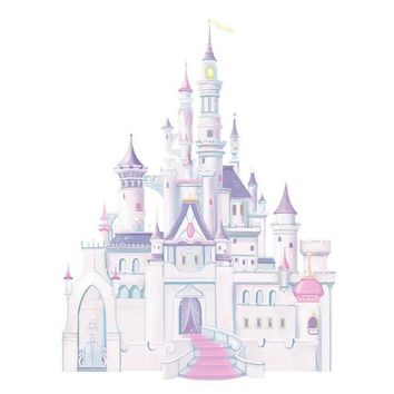 York Wallpaper RMK1546GM Walt Disney Kids Ii Disney Castle Giant Wall Decal