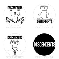 Descendents | Everything Sucks Milo Goes to College I Don't Want To Grow Up Punk Buttons Pins Badges Pinback