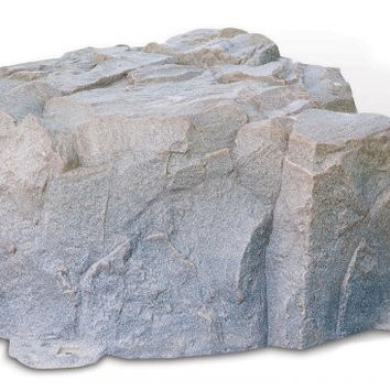 "Fake Rock Artificial Stone Septic Lid Cover (Riverbed) (15""H x 32""W x 34""D)"