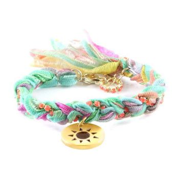 Grassroots Festival Fling Bracelet and Sun Charm