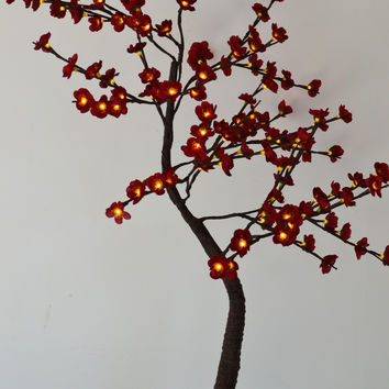 Blossom Plum ( Cherry ) Tree Light / LED Flower Tree Light, Branch Tree Light Wedding decoration blossome flower tree light