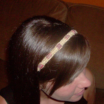 25% OFF Item of The Week - Patterned Hemp Headband