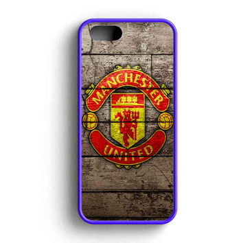 Manchester United Football  iPhone 5 Case iPhone 5s Case iPhone 5c Case