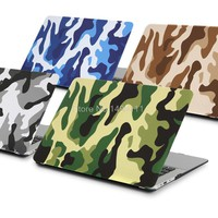 Military Camouflage' laptop Case For macbook Air 11 12 13 15 Pro Retina For apple Mac book 13.3 inch