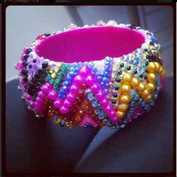 Rainbow ZIG ZAG Bangle