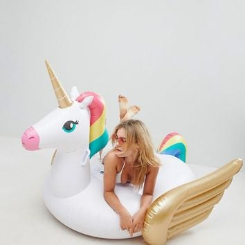 Sunnylife Unicorn Pool Float at asos.com