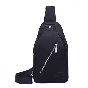 Family Friends party Board game New Men Chest Bag Fashion Leisure Waterproof Male Oxford Cloth Casual Style Messenger Shoulder Bag For Teenager Bag AT_41_3
