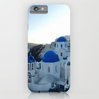| s a n t o r i n i | iPhone & iPod Case by Kelli Schneider