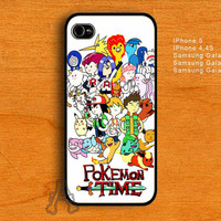 Adventure Pokemon Time-IPhone 4/4S/5 Case-Samsung Galaxy S2/S3/S4 Case-AA22072013-8