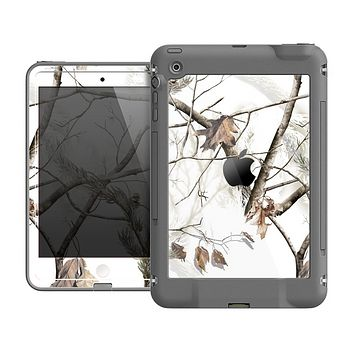 The Real Winter Camouflage Skin for the Apple iPad Mini LifeProof Case